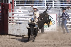 Rodeo Near Our Lodgings in Prineville, OR